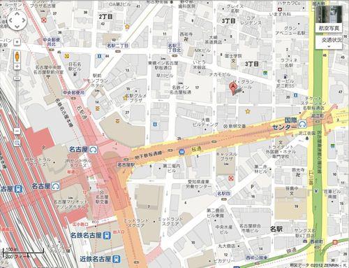 愛知県名古屋市中村区名駅3丁目18 5  Google マップ