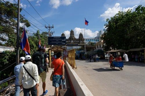 タイからカンボジアへ