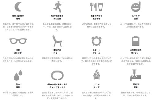 UP by Jawbone | 自分の生活習慣を把握することがライフスタイル改善への道