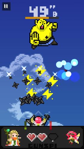 ガンスピリッツ ゲーム画面