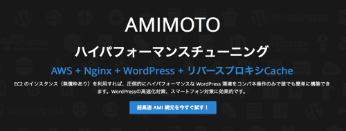 AWS Nginx WordPress 超高速 WordPress AMI 網元
