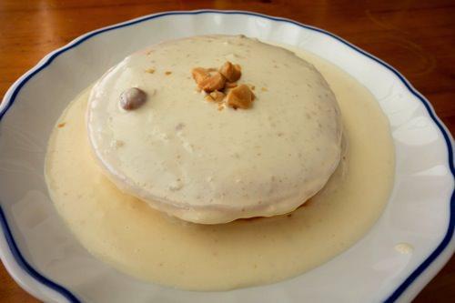 マカダミアナッツのパンケーキ