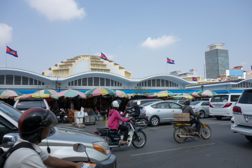 Cambodia center market 02