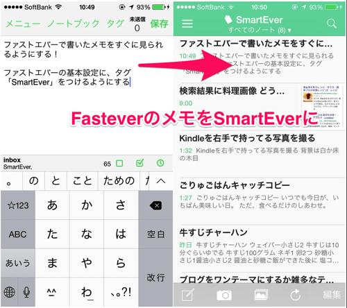 Fastever to smartever