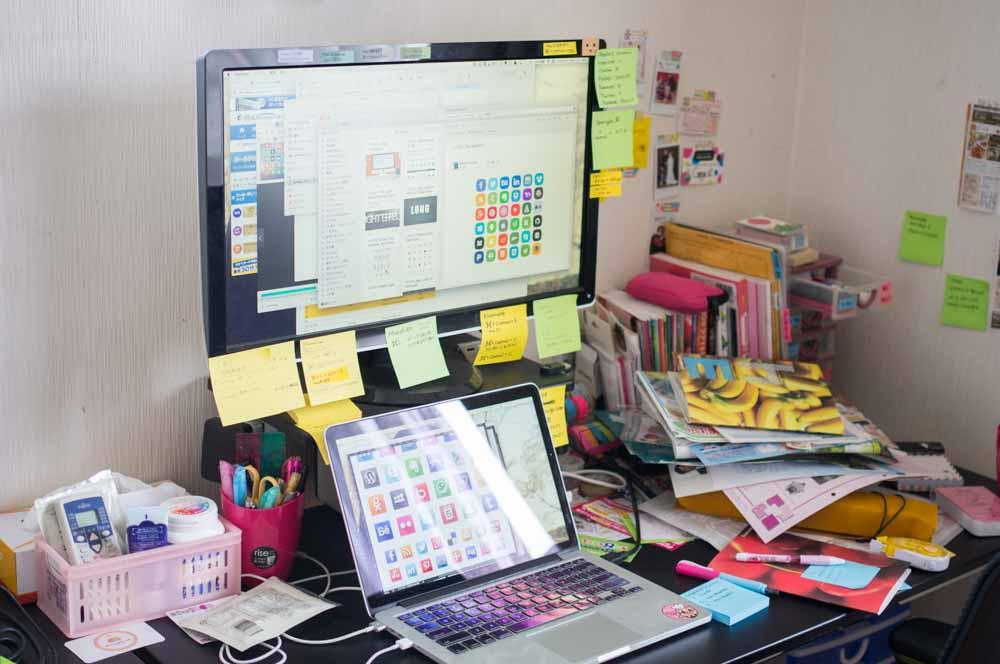 Arround my desk 12