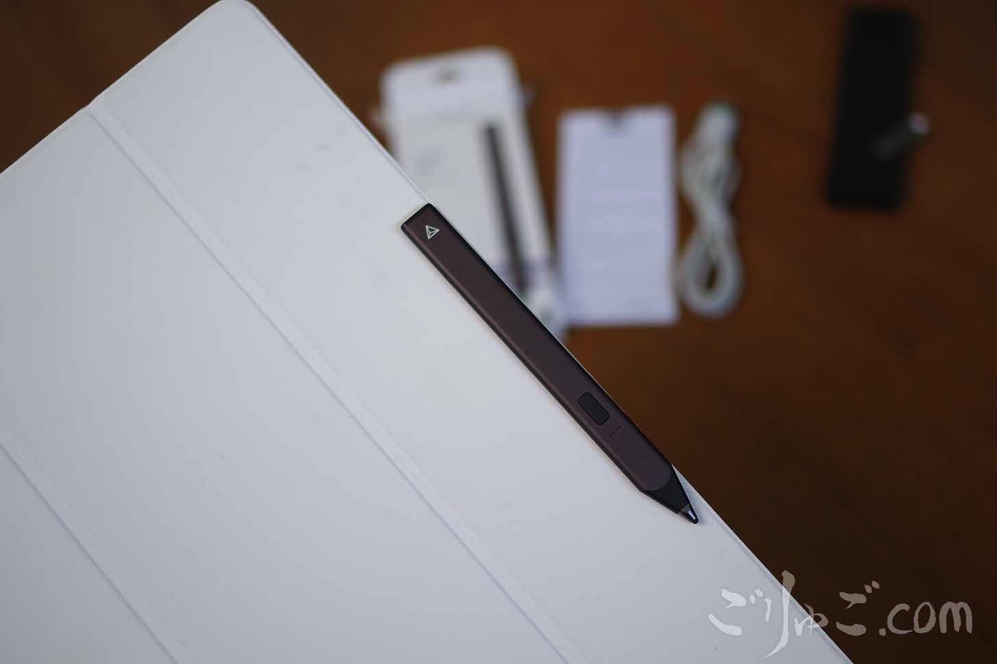 iPadにはぴったりくっつく