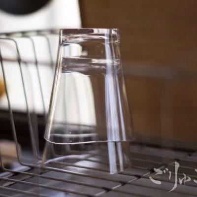 重ねて乾かせてガラスのように見えるコップが最高に気に入った