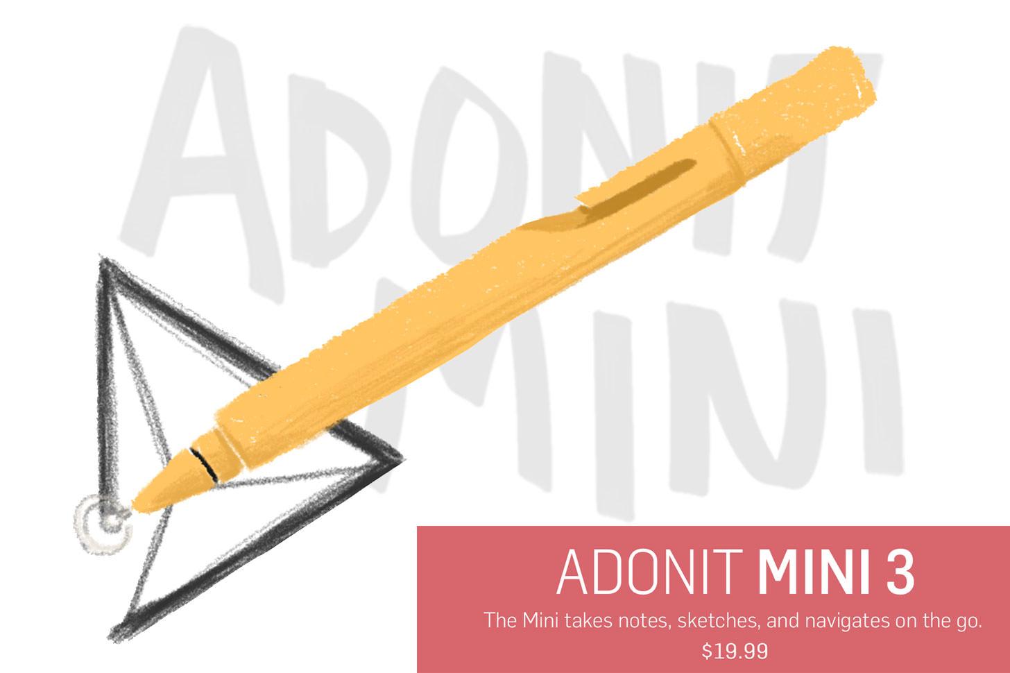 Adonit mini3サンプル